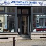 Profenêtres rue de Namur à Nivelles