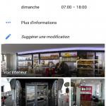 Ciné Pain détail de la fiche et des vignette (voir intérieur et photos) Google sur mobile - Alain Prudhomme photographe agréé