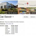 Visibilité dans le panneau de recherche Google le Gai Savoir