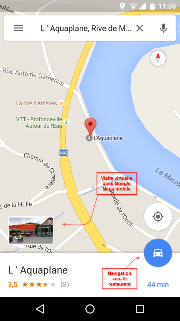 L'Aquaplane Google Maps