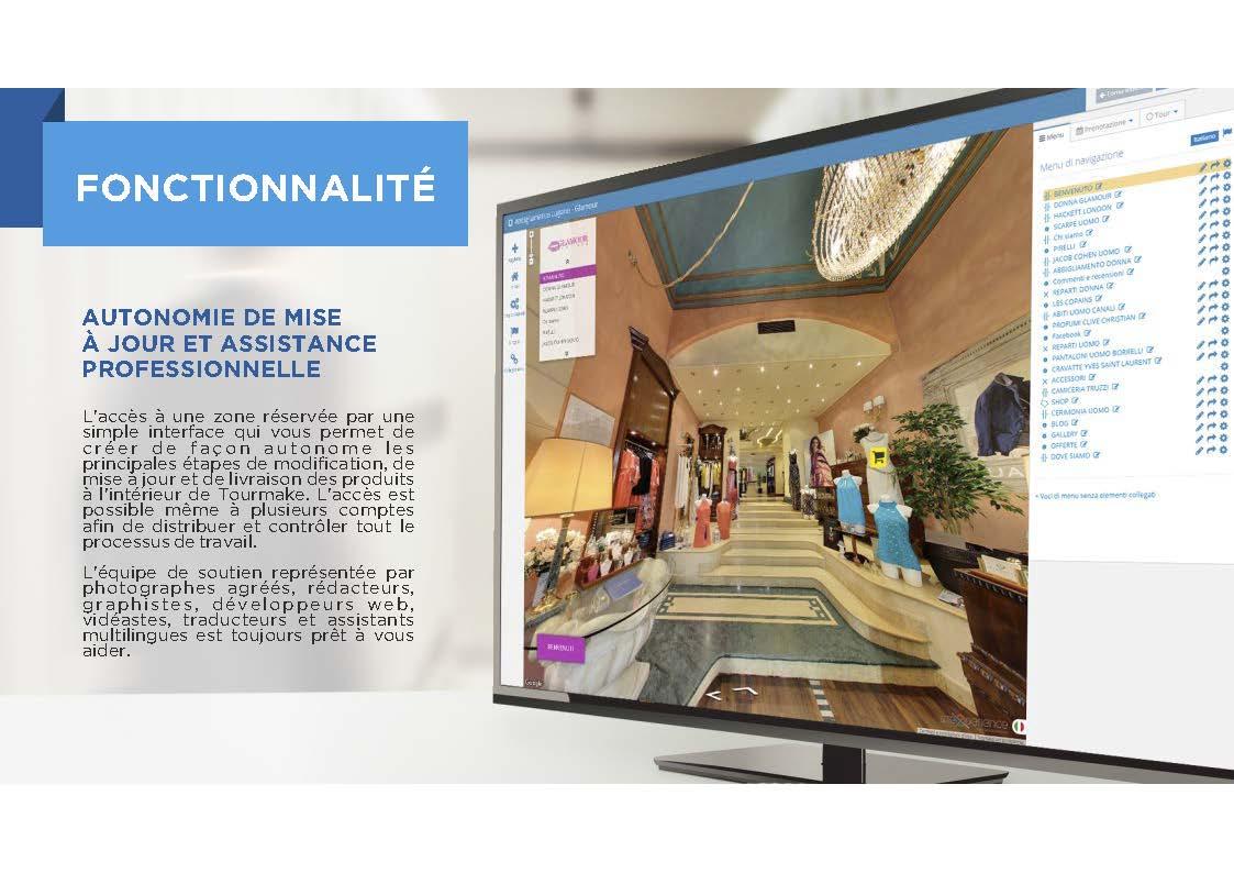 Fonctionnalité Tourmake