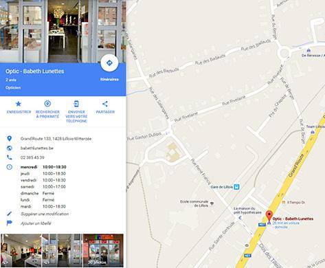 Babeth Lunette Google Maps