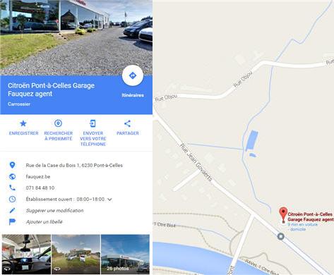 Fauquez Google Maps