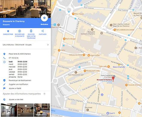 LeCharleroy Google Maps Alain Prudhomme