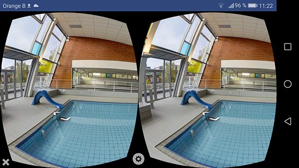 Piscine VR