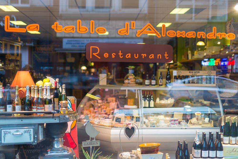 Alain Prudhomme Photographe Le petit Chalet et la Table d'Alexandre Nivelles
