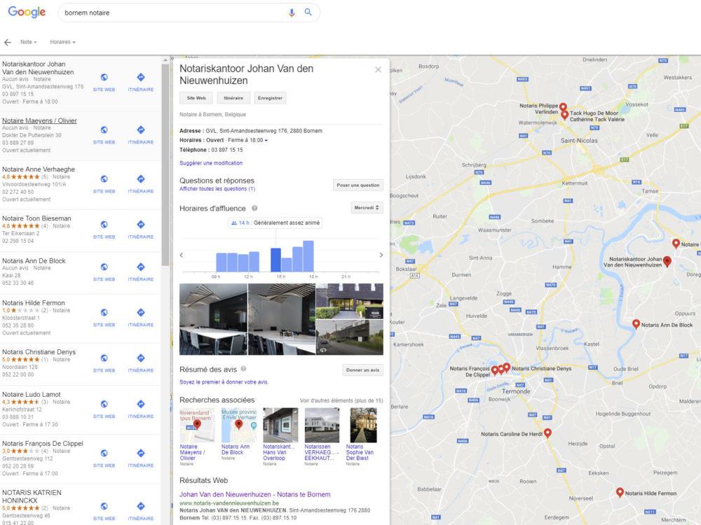 Notaire Google
