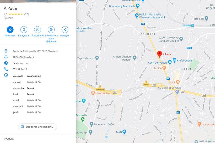 Aputia Google Maps